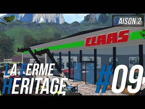 Farming Simulator 15 | La Ferme Héritage | Épisode 9 S2 | Retour sur vielle France (RôlePlay)