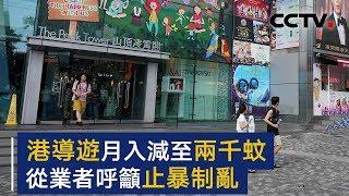 香港导游收入减至两千蚊 从业者呼吁止暴制乱 | CCTV