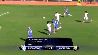 Erbaaspor 5-0 Fatsa Belediyespor Maç Özeti