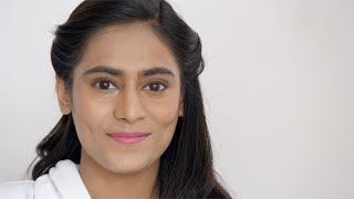 Free Video of Beautiful Indian woman smiling wearing subtle makeup and simple hairstyle