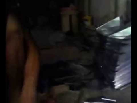 Pembuatan Serok sampah di Tegal