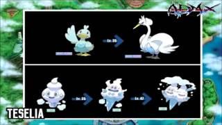 Como Evolucionar Los Pokemon De La Region Teselia | ADMX