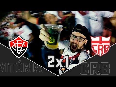 Vitória 2x1 CRB | LEI DO EX EM AÇÃO