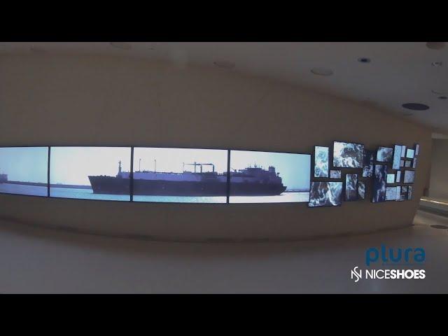 Plura Monitor Wall in Qatar
