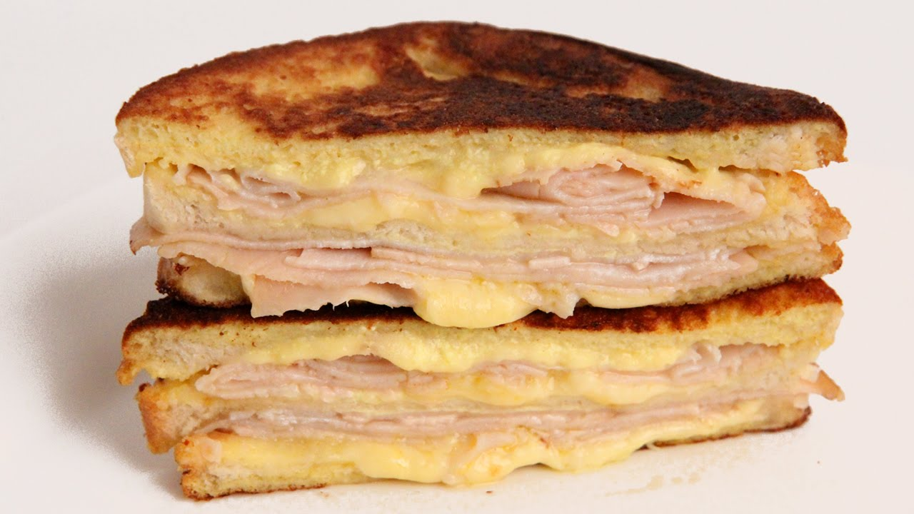 Monte Cristo Sandwich Recipe - Laura Vitale - Laura in the Kitchen ...
