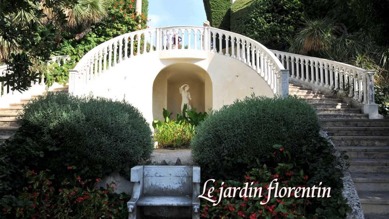 Les jardins de la villa Ephrussi HD Riviera France