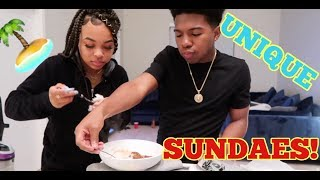 UNIQUE FAMILY SUNDAE FUN-DAY!!! *KIDS ARGUED*