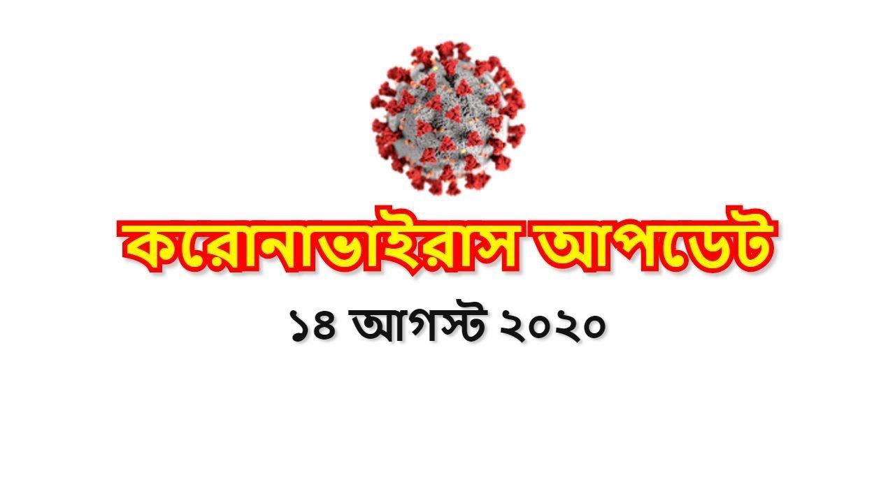 প্রতিদিনের করোনাভাইরাস আপডেট   14 AUGUST   COVID19   DGHS   DHAKA    BANGLADESH