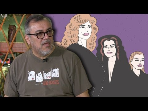 "Gilbert Hernandez on ""Love and Rockets'"" Comic Book Return and How Punk Rock Changed His Life"