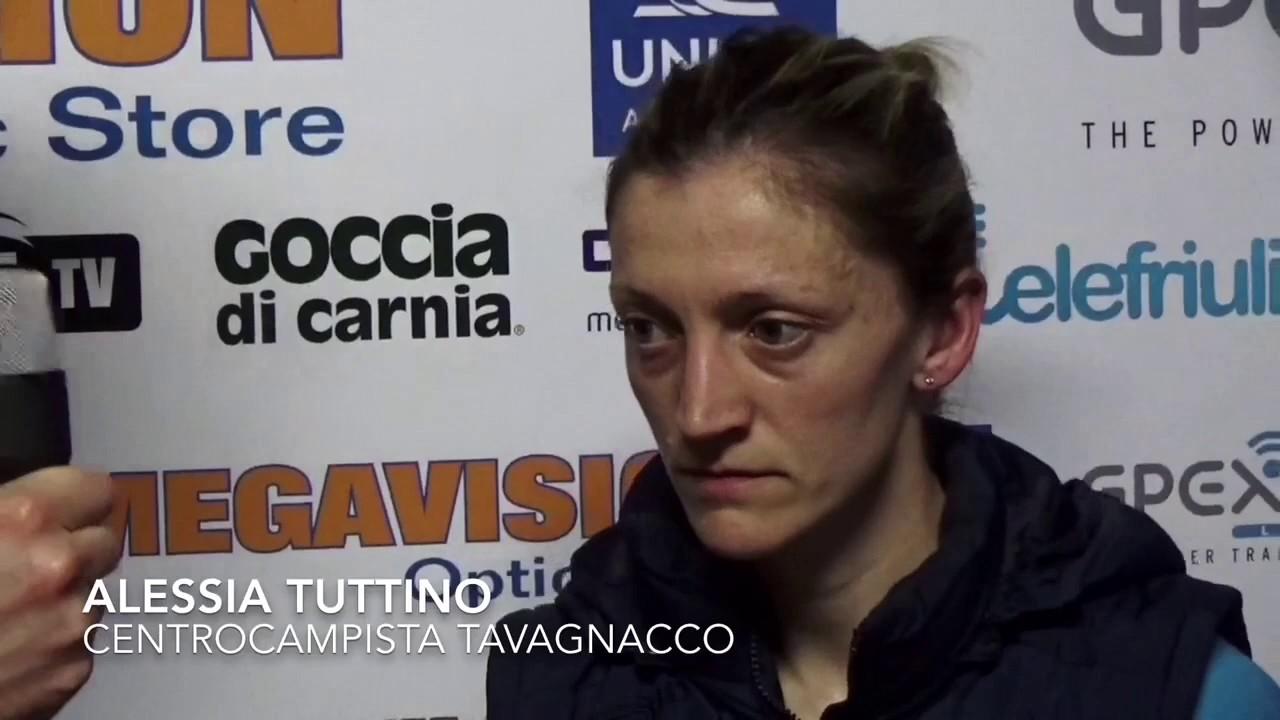 Alessia Tuttino after Tavagnacco vs Brescia 1-3