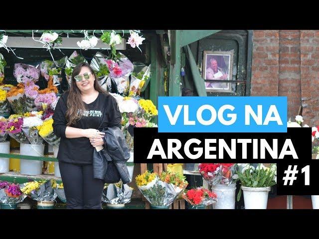 Vlog na Argentina // Calle Florida, Galerias Pacífico, Recoleta // por Ana Luiza Palhares ?