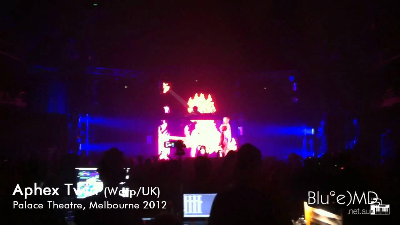 Aphex Twin (Warp/UK) Live @ Palace Theatre, Melbourne 2012