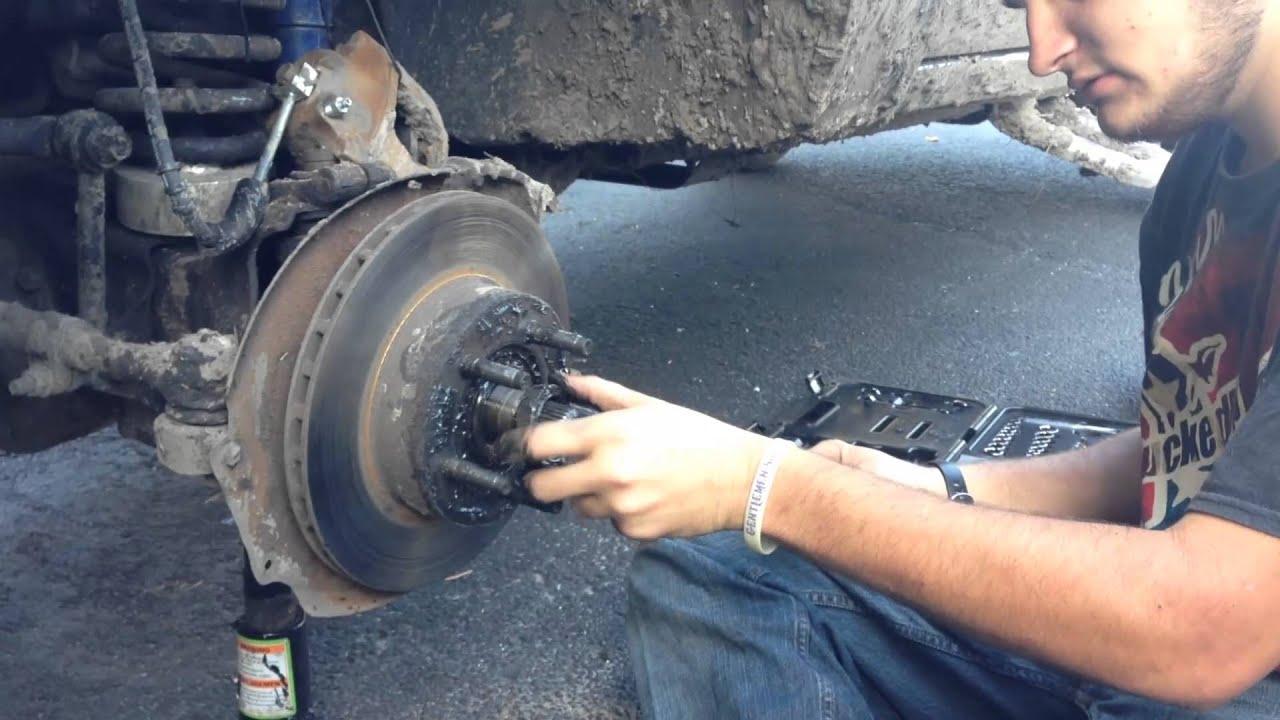 How to change brake rotors 1992 ford ranger 4x4