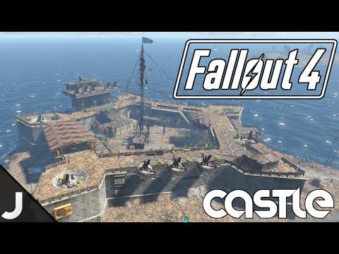 Fallout 4 - The Castle - Base Building Tour [Massive Castle Base]