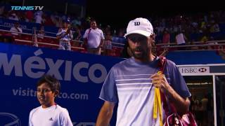 getlinkyoutube.com-Goffin Johnson Win In Acapulco 2017 Monday Highlights