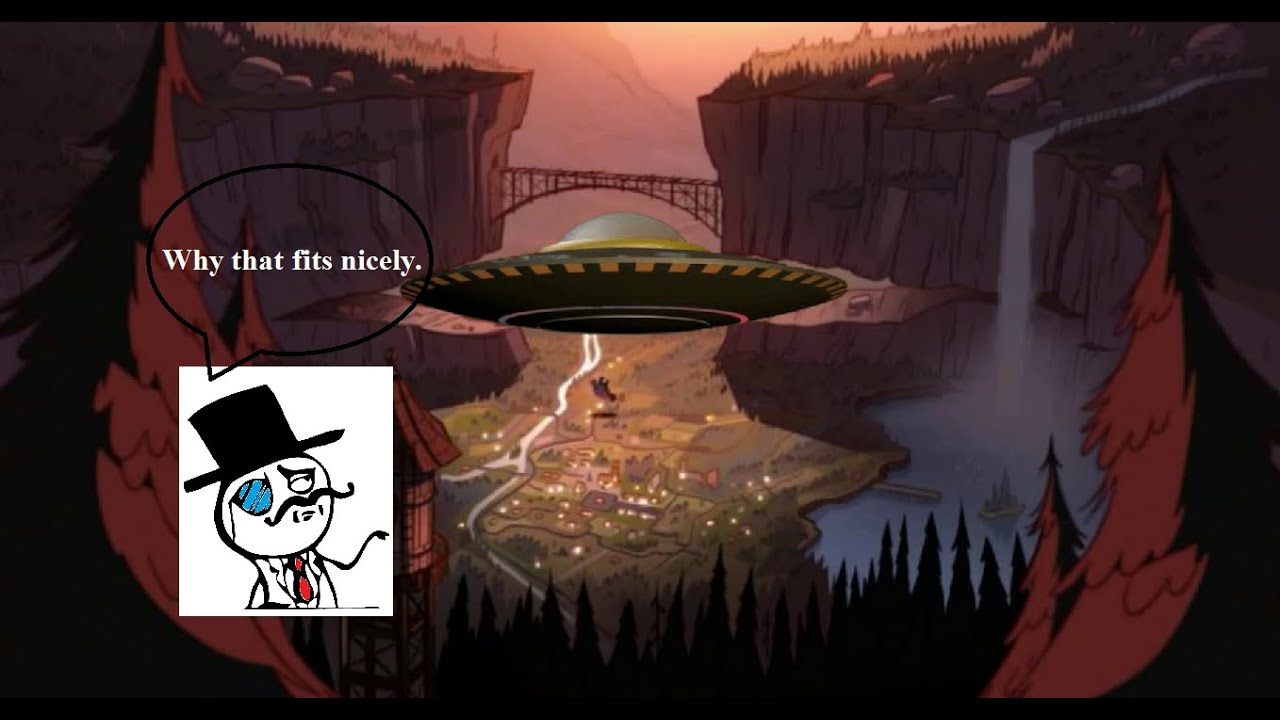 gravity falls aliens ufos and gompers the goat youtube