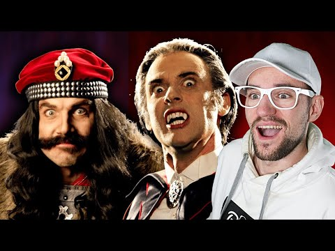 Vlad The Impaler Vs Count Dracula. Epic Rap Battles Of History | REACTION