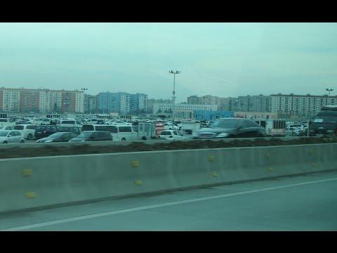 Rustavi - Tbilisi. Bus ride. Jan. 2016