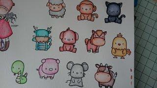 -- [ colorieren ] -- & | Vorstellung meiner Stifte