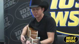 "103.7 WSOC: Troy Olson performs ""Summer Thing"""