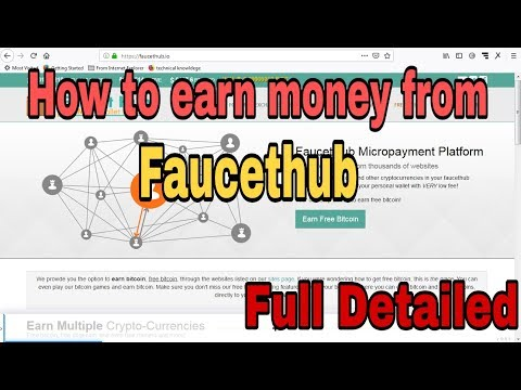 How To Earn Money From Faucethub | Full Detailed | Tech Smart Earning