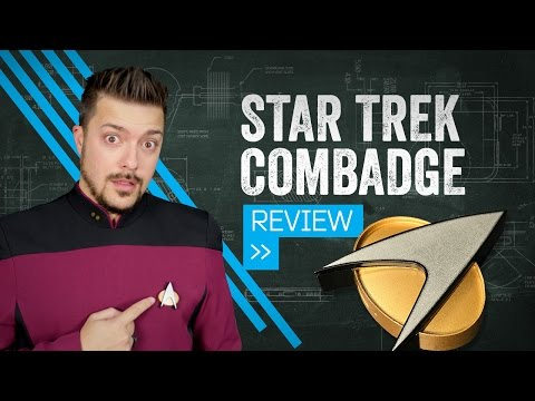 Star Trek's Combadge Is Finally Real, But It's Got Some Bugs