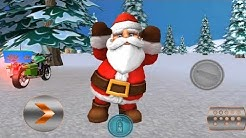 Crazy Santa Moto Gift Delivery 🎄 Crazy Santa Claus Moto Simulator 2018 🎅 Android GamePlay FHD