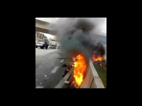 Imagens do acidente de helicóptero que matou o jornalista Ricardo Boechat