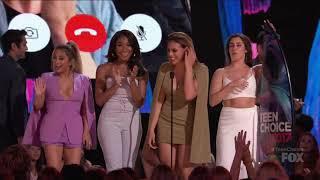 Fifth Harmony win Choice Music Group at the 2017 Teen Choice Awards