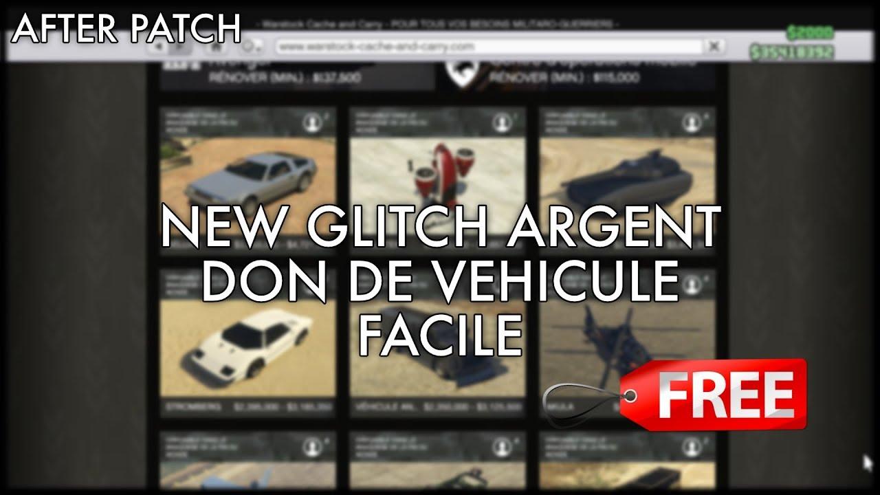 new glitch argent facile et don de vehicule super facile. Black Bedroom Furniture Sets. Home Design Ideas