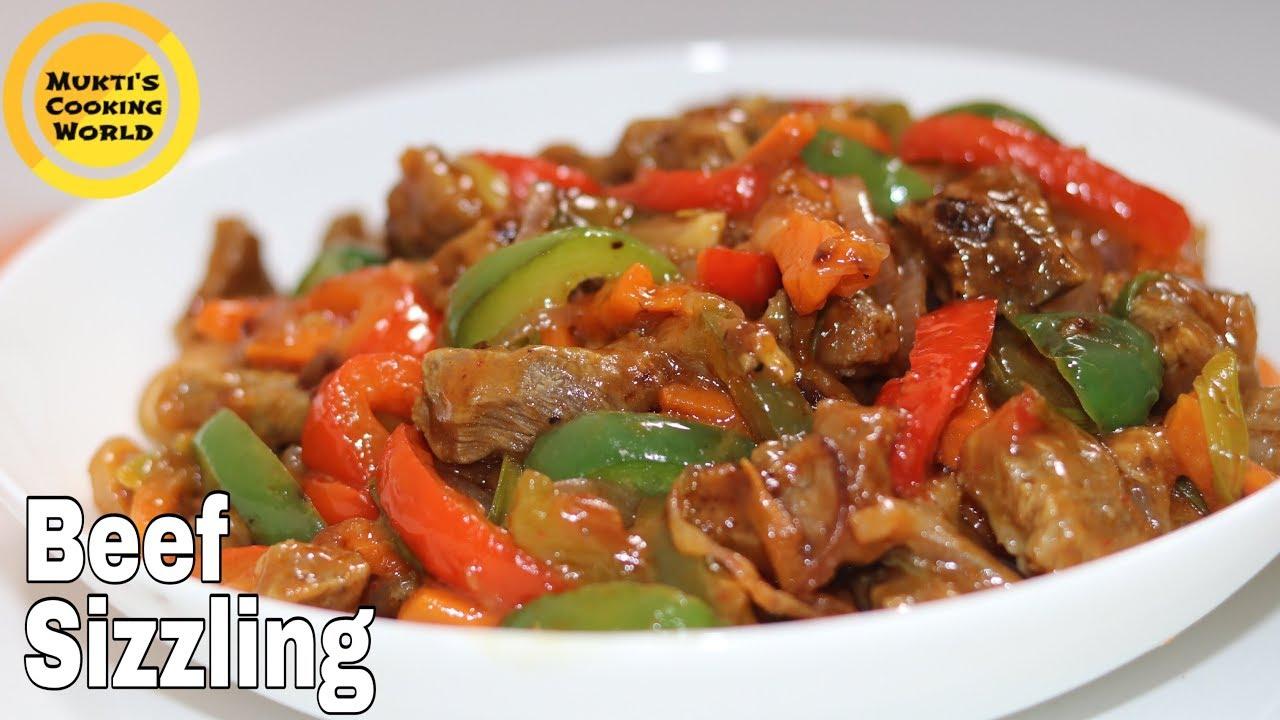 Download বিফ সিজলিং রেসিপি ॥ Beef Sizzling Recipe ॥ Chinese Beef Sizzling