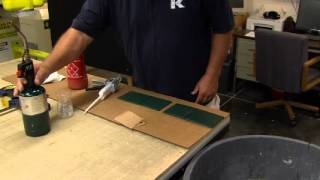 Using adhesive with King StarBoard®