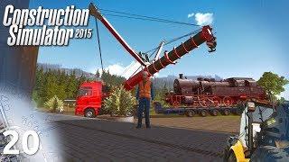 "Construction Simulator 2015 #20 - ""Pociąg na lawecie"""