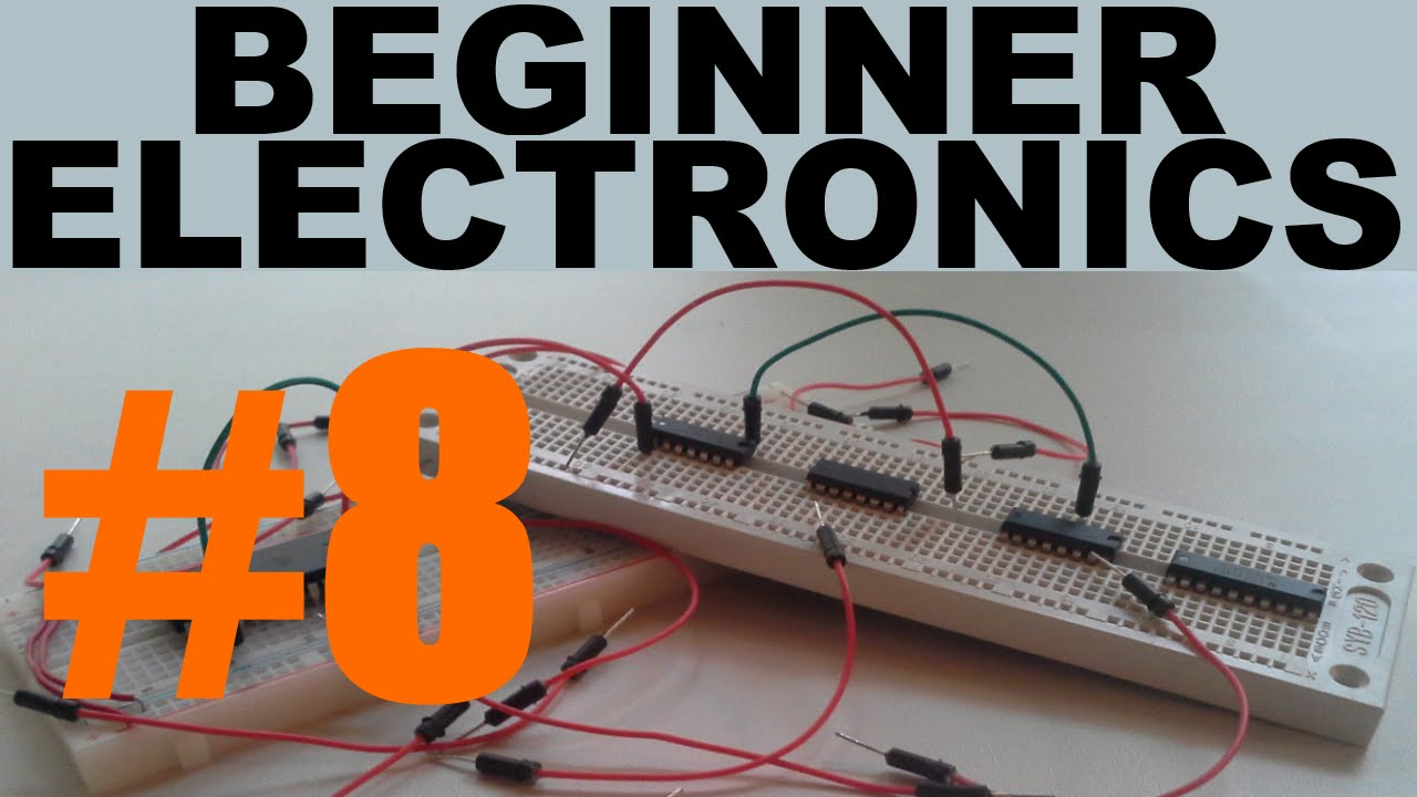 Beginner Electronics - 8 - First Circuit!