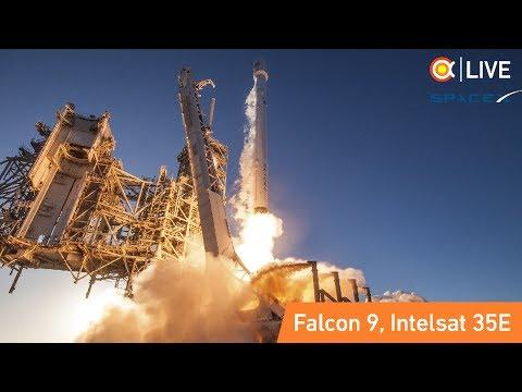 Трансляция пуска SpaceX Falcon 9 (Intelsat 35E)