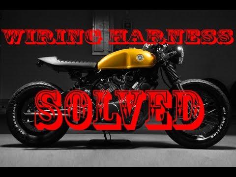 Yamaha Virago XV920 Café Racer Build - Vlog #20 - Electrical Harness Pt.2 of 2