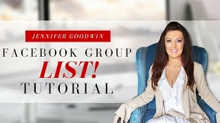 How To Get a List Of Facebook Groups You Are A Member Of