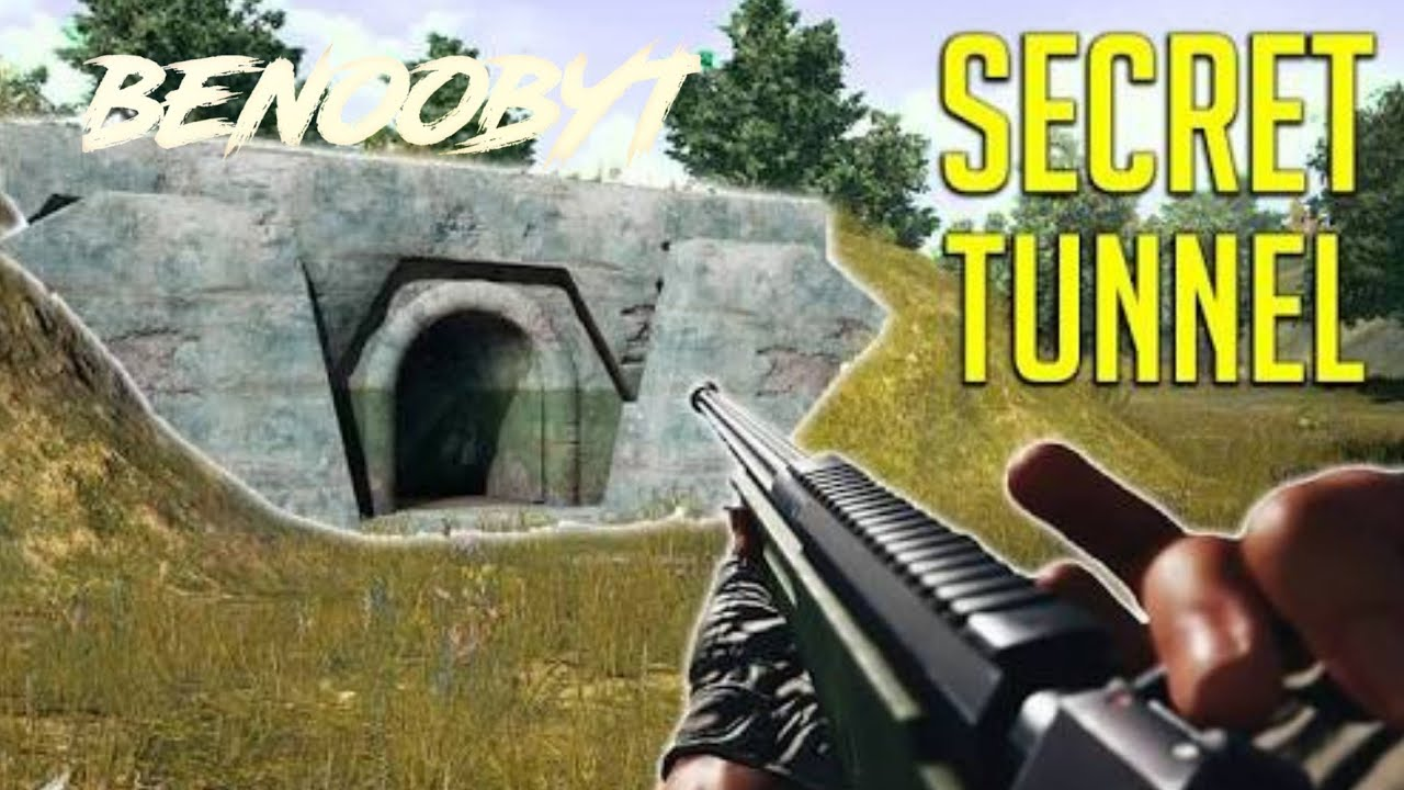 TOP 5 SECRET TUNNELS IN PUBG MOBILE | benoobYT| - YouTube