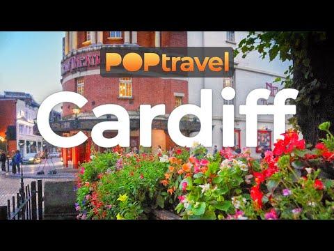 Walking In CARDIFF / Wales (UK) 🇬🇧 - 4K 60fps (UHD)