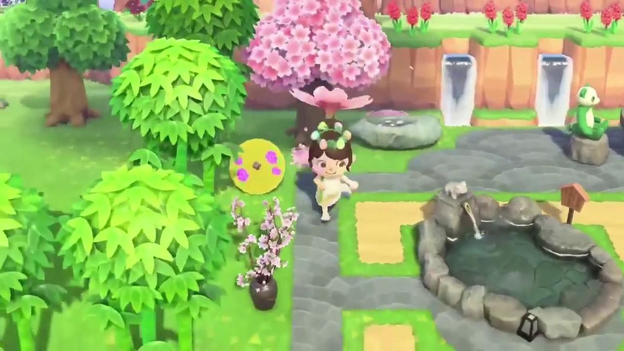 Animal crossing New Horizons: Zen Garden - YouTube