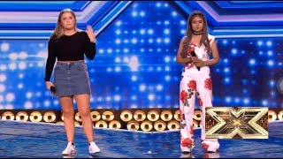Filipina Maria Laroco FOUGHT HARD VS Georgia Burgess For The Last Seat | Six Chair X FACTOR 2018