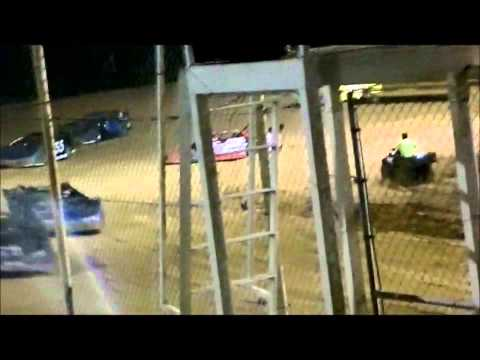 Late Model Feature Race at Northwest Florida Speedway 6 14 2013