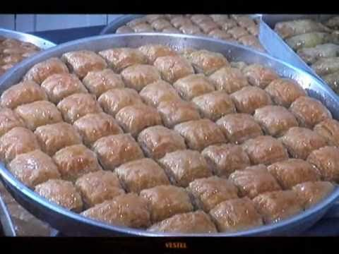 How to make Antep Fistik Baklava - Antepfıstığı baklava