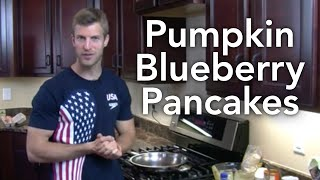 Pumpkin Blueberry Pancakes-transform Your Kitchen-episode #7