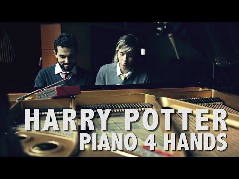 Hedwig's Theme Piano 4 Hands - Trouble Couple [Harry Potter - John Williams]