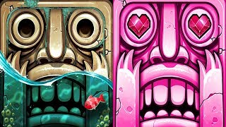 Temple Run 2 Pirate Cove VS Blazing Sands Android iPad iOS Gameplay