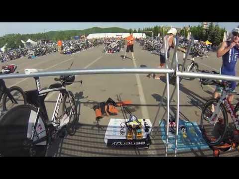 Sam Douglas Pro Triathlete  Mont Tremblant 5150 June 8 2014