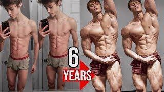 САМАЯ невероятная ТРАНСФОРМАЦИЯ В МИРЕ.David Laid 6 Year Natural Transformation 13-19