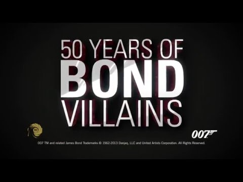 Exquisitely Evil: 50 Years of James Bond Villains