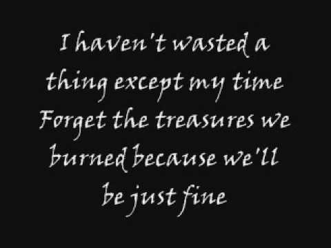The Used - Empty With You [Lyrics] - YouTube